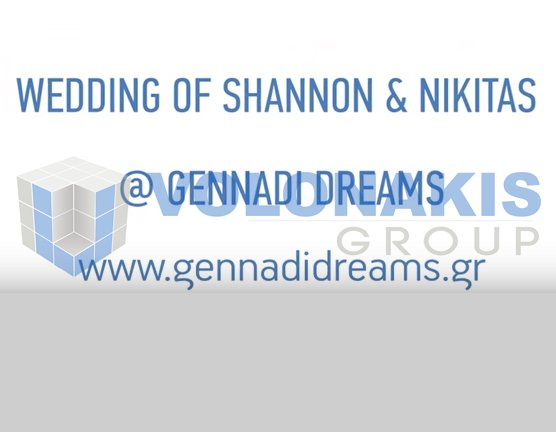 Wedding of Shannon & Nikitas at Gennadi Dreams
