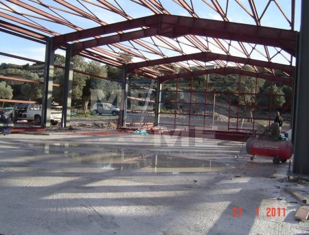 Metaldome main » Offices - Warehouse 1300 sq.m