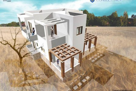 Consaltancy main » Two storey building in Lachania