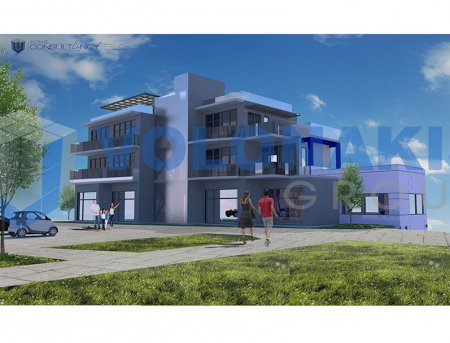 Development main » Planning/Design of five storey Building with offices & Suites in Rhodes  city center
