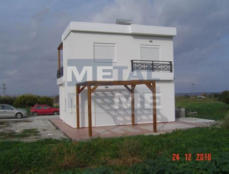 Metaldome main » Residence in Paradisi 85 sq.m