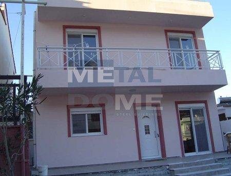 Metaldome main » Two storey building Embona, Rhodes, Greece